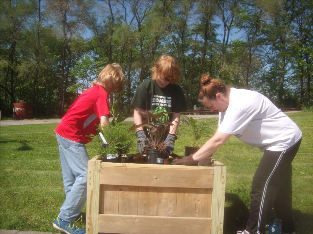 Boy Scout Planters 5