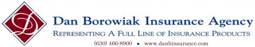 Borowiak Insurance Logo with Phone
