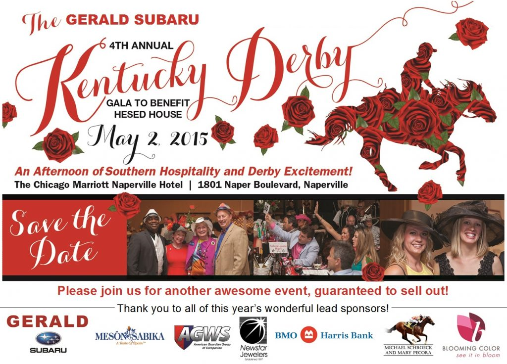 Derby Save the Date 2015 - Revised for Subaru